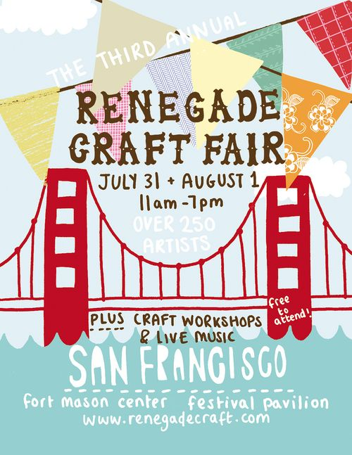 Renegade Craft Fair SF